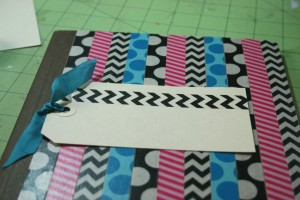 altered composition notebook for back to school and he crafts, she crafts with mark montano