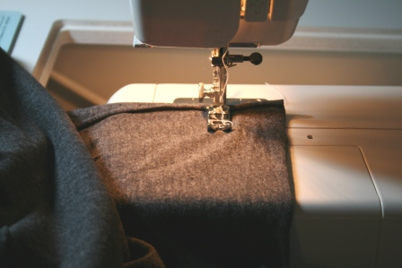 sewing a maxi dress pinned from pinterest