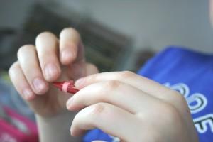 ational craft month kids crafting melting crayons