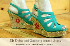 DIY Dolce and Gabbana Lifestyle Shot