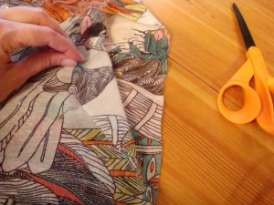 dolce and gabbana spring 2013 simple scarf dress diy sewing project