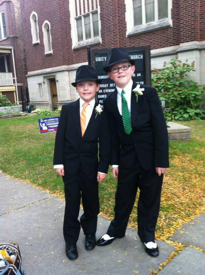boys wedding