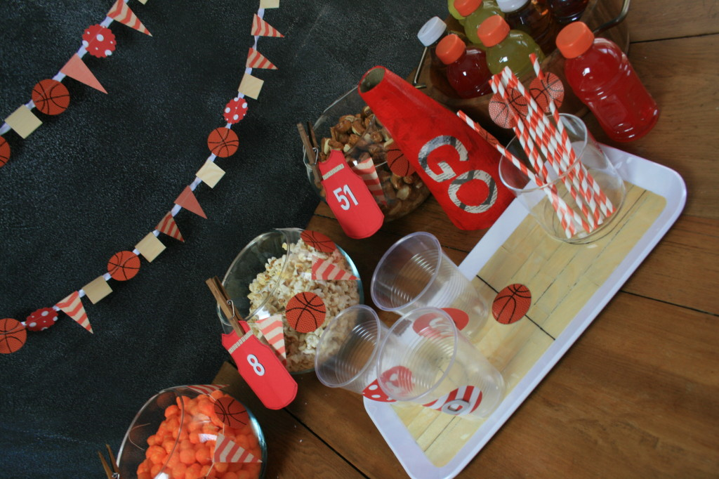 DIY Basketball Party for March Madness