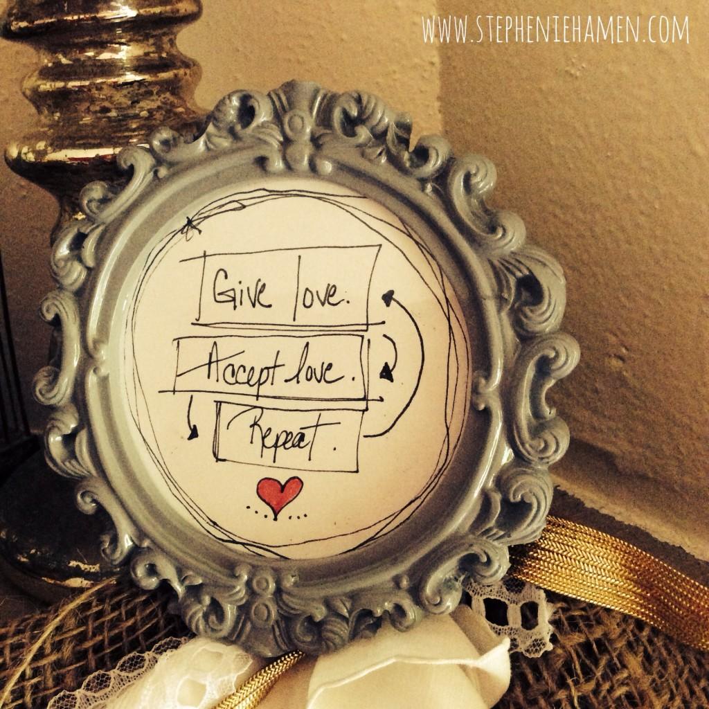 Stephenie Hamen love doodle gratitude fibromyalgia