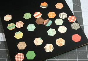 hexagon frame art #thursdiy