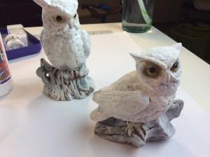 #12craftydays snowy owls day 2