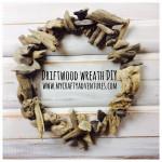 driftwood wreath diy, hot glue, driftwood, drift wood, wreath how-to, diy
