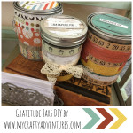 ball jar, diy, gratitude, thanksgiving project, paper crafting