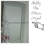 shabby chic mirror americana decor chalky finish paints decoart