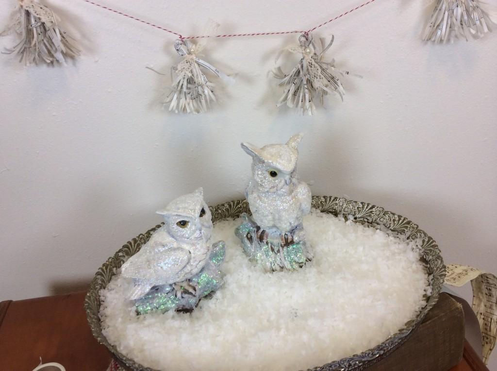 final snowy owls ready for a happy holiday season