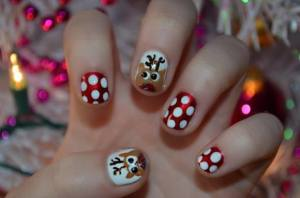 Heather Mann, dollar store crafts, holiday nail art, #thursdiy