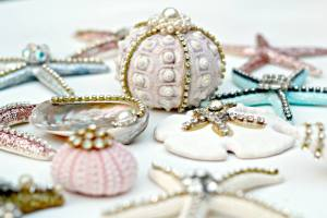 Debi's seashell ornaments