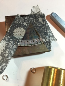 impress art finished stamped inspire necklace piece