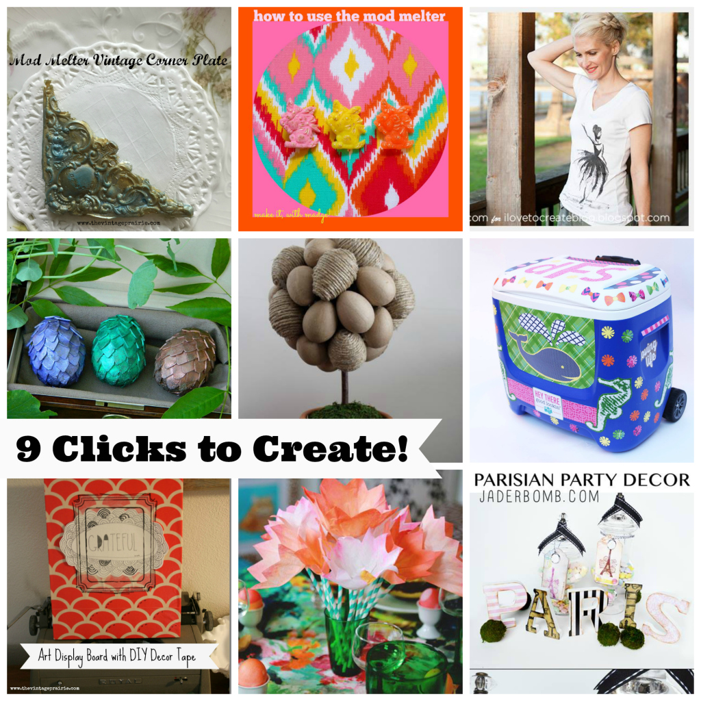 #thursdiy 9 clicks to create