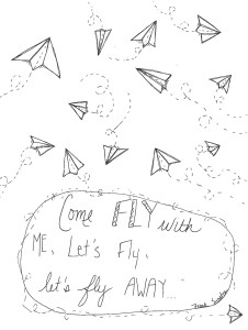 come fly with me coloring sheet download