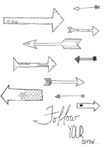 follow your arrow coloring sheet download