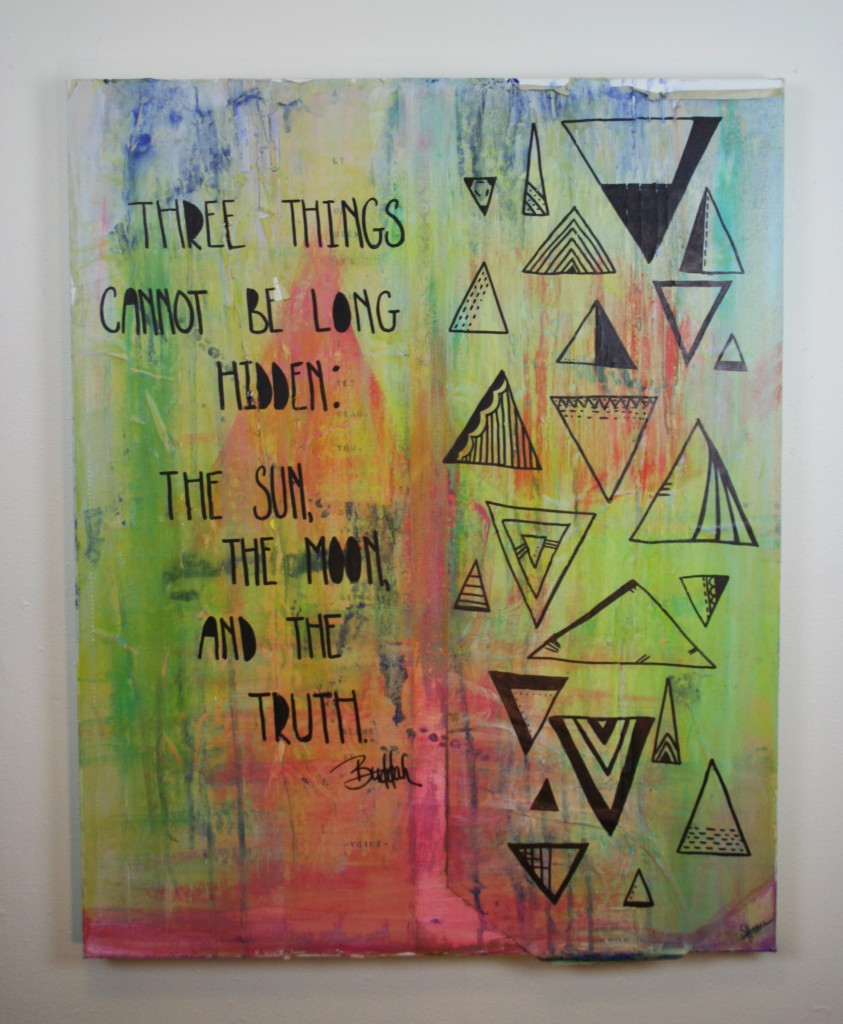 buddah, mixed media, quote, art, paint, drawing, doodling, doodle
