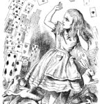 alice, alice in wonderland, down the rabbit hole, john tenniel