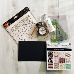 tonic, nuvo, tonic studios, my mind's eye, paper source, cardmaking, card, graduation